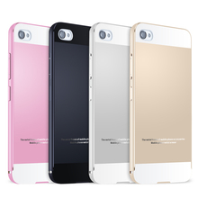 2015 Hot Sale For Lenovo S90 Aluminum Alloy Metal Frame & Acrylic PC Back Cover Set Phone Back Cases for S90 Free Shipping