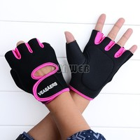 New 2014 Gym Body Building Training Fitness Gloves Sports Weight Lifting Exercise Cycling Gloves For Men And Women  18