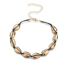 Jisensp Handmade Bohemian Shell Bead Rope Chain Bracelet Jewelry for Woman Girls Vintage Beach Shell Bracelet Party Gifts(China)