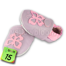 Soft Leather Baby Boys Girls Infant Shoes Slippers 0-6 6-12 12-18 18-24 New Style First Walkers Leather Skid-Proof Kids Shoes(China (Mainland))