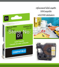 YOKO Brand compatible DYMO label tapes D1 tape cartridge 45013 S0720530