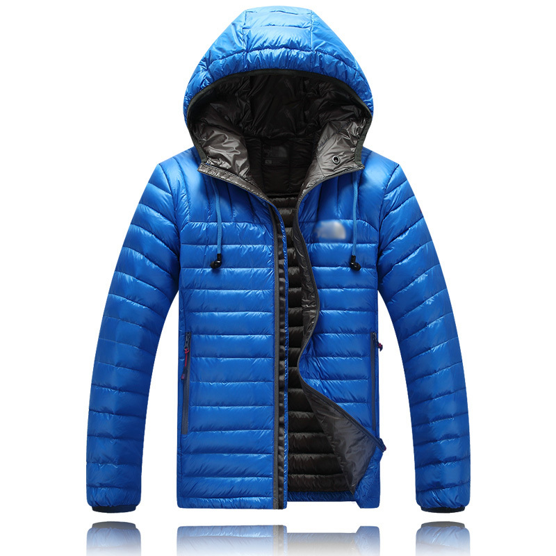 2015 New Arrival Men Winter Down Jacket 90% White duck down Jackets Men Outdoors Parka Warm Feather Coat High quality Ultralight(China (Mainland))