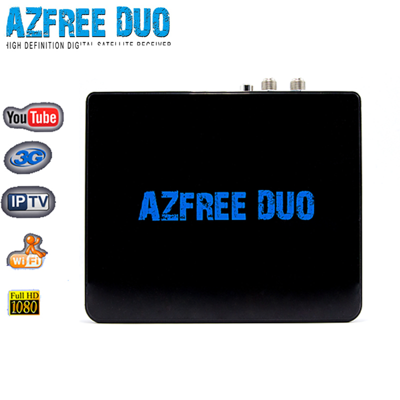 Nagra3 free shipping to South America iks sks Azfree duo DVB S2 digital satellite receiver azamerica s1008(China (Mainland))