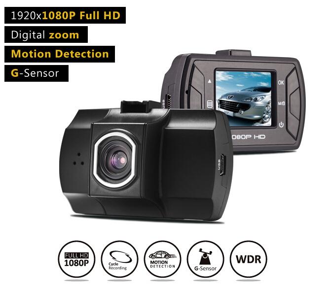 """Car DVR Z1 Car Camera Recorder Novatek CPU FHD 1080P 1.5""""LCD Screen +G-sensor Video Recorder 140 Degree Wide Angle Lens Dash CAM(China (Mainland))"""