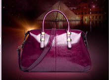 2016 Fashion women leather bags classic designer styles handbag with water printing leather material(China (Mainland))