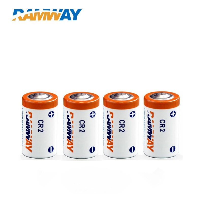 10pcs/lot free shipping 3v lithium battery CR2 750mAh primary battery(China (Mainland))