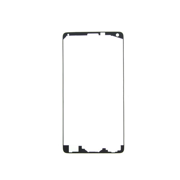 50pcs/lot Free shipping For Samsung Galaxy Note 4 N910 OEM Front Housing Frame Adhesive Sticker