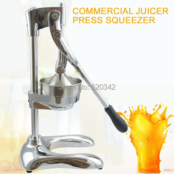 Free shipping-professional quality commercial juicer press,citrus juicer press machine manual,hand pomegranate juicer squeezer