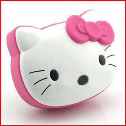 kitty cat cartoon mini speaker card small speaker child sound lovely kt cat speaker portable wireless stereo speaker(China (Mainland))