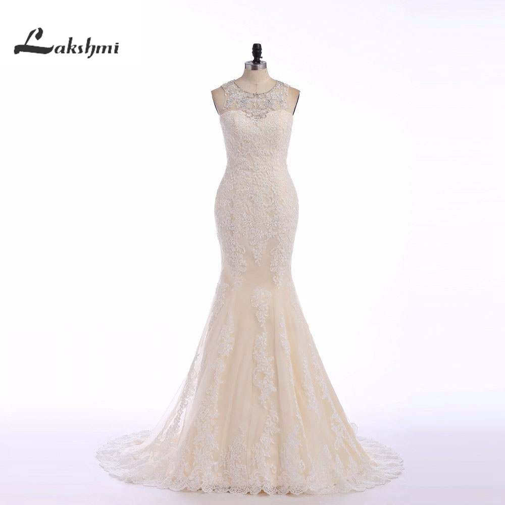 Gorgeous real picture mermaid wedding dresses with for True mermaid wedding dresses