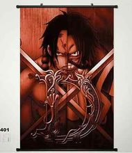 Anime One Piece Monkey D Luffy Home Decor Poster Wall Scroll Japan New 401