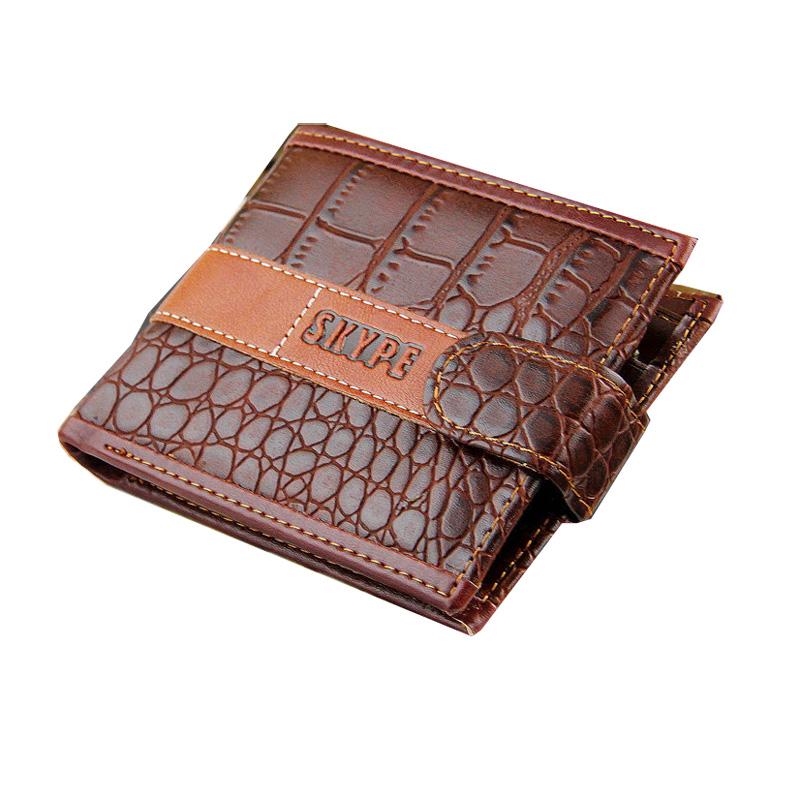 2015 the new spot men stripes Cikou purses wallets creative dollar wallet purse men short paragraph wallet free shipping<br><br>Aliexpress