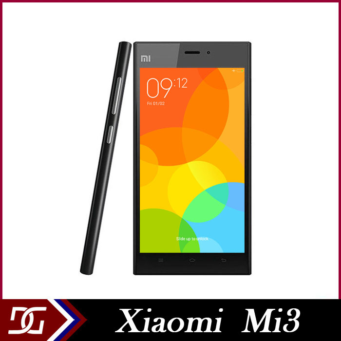 Original Xiaomi Mi2 Mi2S Mi2A Qualcomm Snapdragon 600 1.7GHz Quad Core Cell Phones 3G WCDMA Android Smartphone Multi Language(China (Mainland))