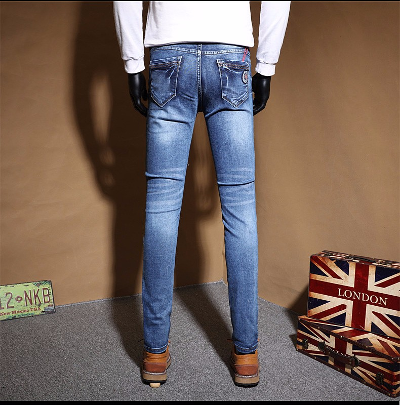 2016 New Autumn and winter Jeans Men's Jeans Clothing Casual Denim Jeans Men Brand trousers High quality trousers free delivery