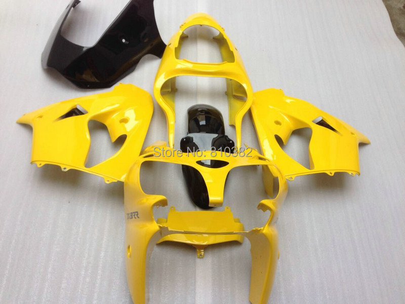 Motorcycle Fairing kit fits KAWASAKI Ninja ZX9R 2000 2001 Yellow Bodywork ZX9R 00 01 ABS Road Fairings set+7 gifts SD77(China (Mainland))
