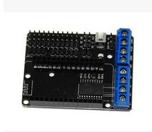 high quality NodeMCU Motor Shield Board L293D for ESP-12E from ESP8266 esp 12E kit diy rc toy wifi rc smart car remote control(China (Mainland))