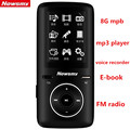 Original Newsmy A33 MP3 music player lossless audio player 8G mp3 2 4 inch Screen with