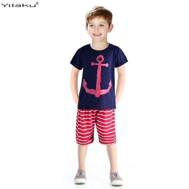 комплекты одежды для мальчиков Лето 2015 мальчик одежда комплект детей спортивные костюмы 100% хлопок детская одежда комплект футболка + брюки фантазии Infantis CF101