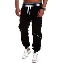 Harem Pants Men Fashion 2015 New Mens Joggers Cool Track Sweat pants Letter Printed Basketball Sport
