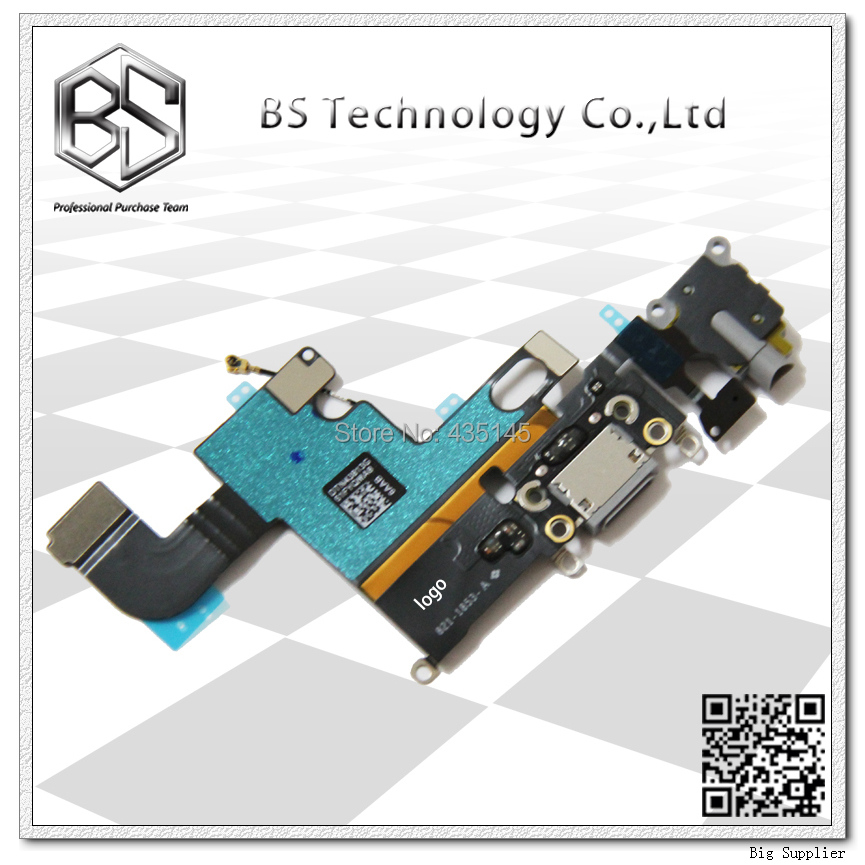 5pcs/lot For iPhone 6 Dock Connector Charging Port Flex Cable for iPhone6 Original Official New 4.7 inch