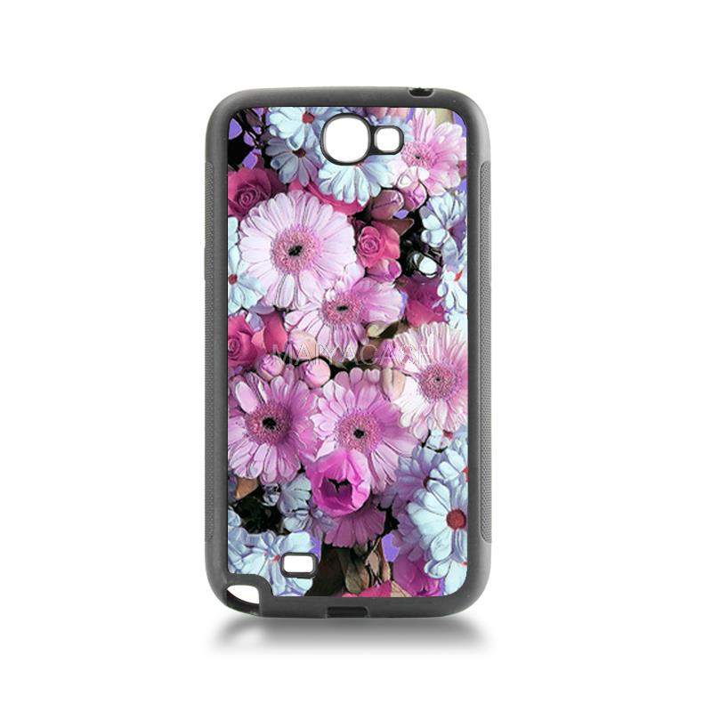 Newest Fashion Luxury tpu soft black phone case low battery need caffeine For case GALAXY note2 7100