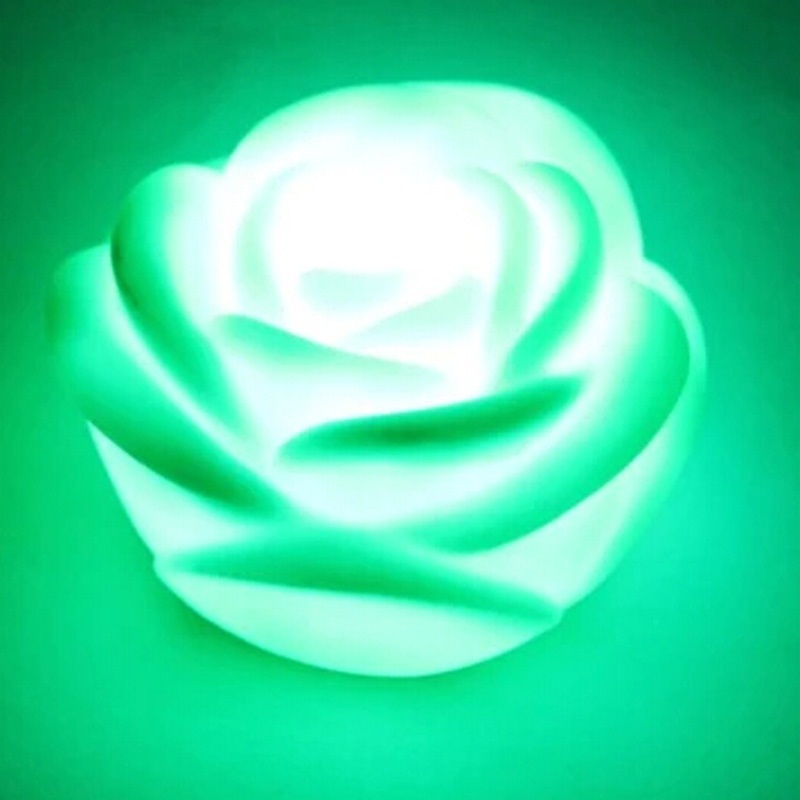 Wedding gift wedding decoration supplies rose romantic night light colorful day - Love Heart Home Decor store