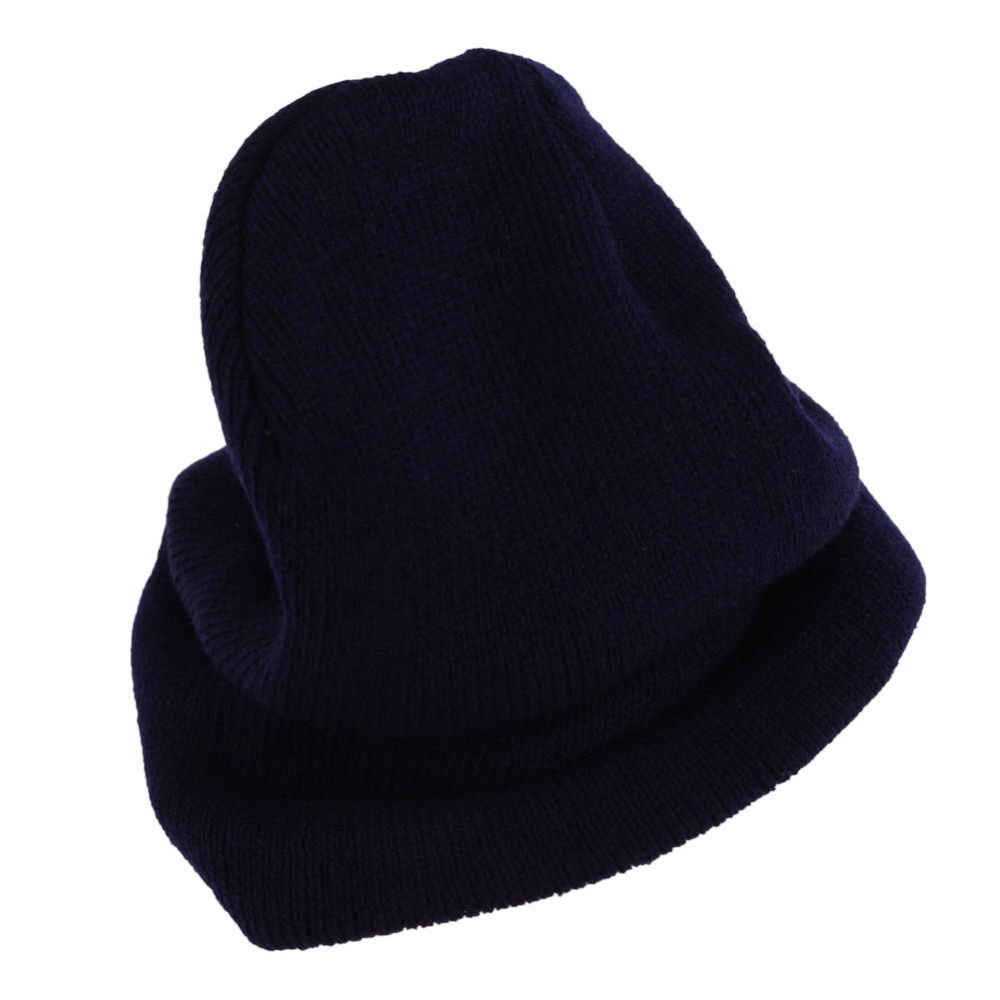 BS S Men Women Beanie Knit Ski Cap Hip Hop Color Winter Warm Unisex Wool Hat