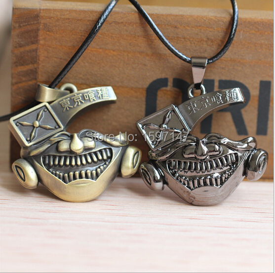 New Fashion Anime Jewelry Tokyo Cannibal Corpse ghost Cosplay Pendant Necklace 12PCS/LOT<br><br>Aliexpress