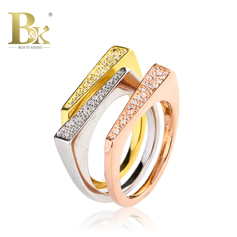 Simple Silver Wedding Rings For Women 925 Sterling Si...