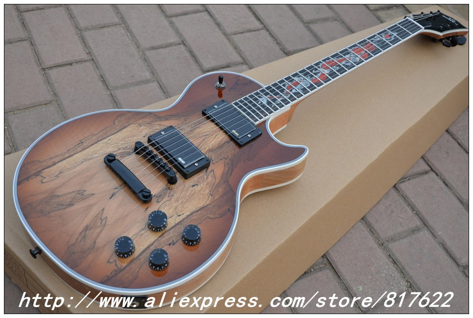 Custom Shop Spalted guitar custom inlay guitar instrumentos musicales high quality complete china electric guitar free shipping<br><br>Aliexpress