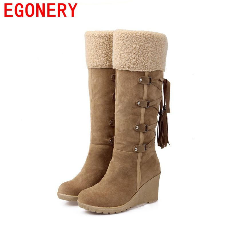 Excellent 2017 Christmas Gifts Winter Women Mans Boots Snow Boots