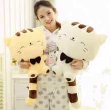 Lucky Cat Plush Cushion for Girls