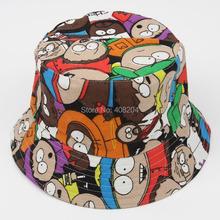 New design top quality cotton kids bucket hat fiherman beach sunhat cute cap sunmmer and spring  outdoor sport sun caps(China (Mainland))