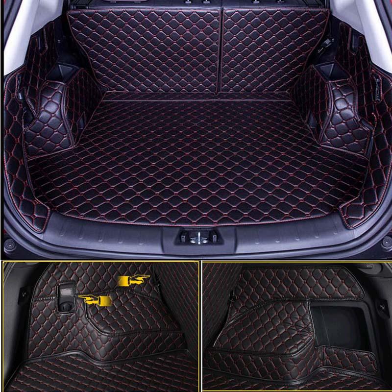 Поддон в багажник и обшивка из водонепроницаемой кожи