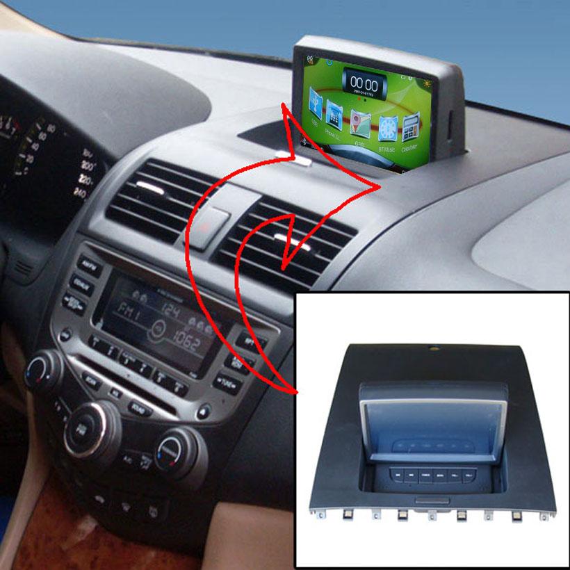 Car Multimedia Radio GPS Navigation For Honda Accord 2003-2007 honda accord 7 car stereo(China (Mainland))