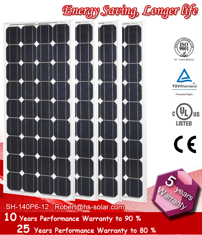 4x100W mono solar module 12V solar panel for total 400W for home use, A grade cells, Cheap price from China manufacturer(China (Mainland))