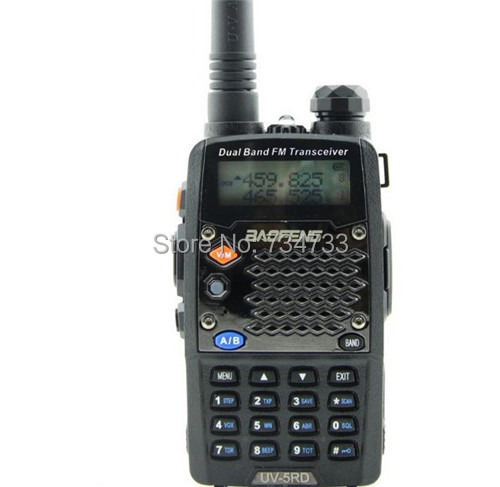 New arrived BAOFENG Walkie Talkie UV-5RD Dual Band Portable Two way Radio 5W 128CH 136-174&400-520MHz walky talky UV 5RD(China (Mainland))