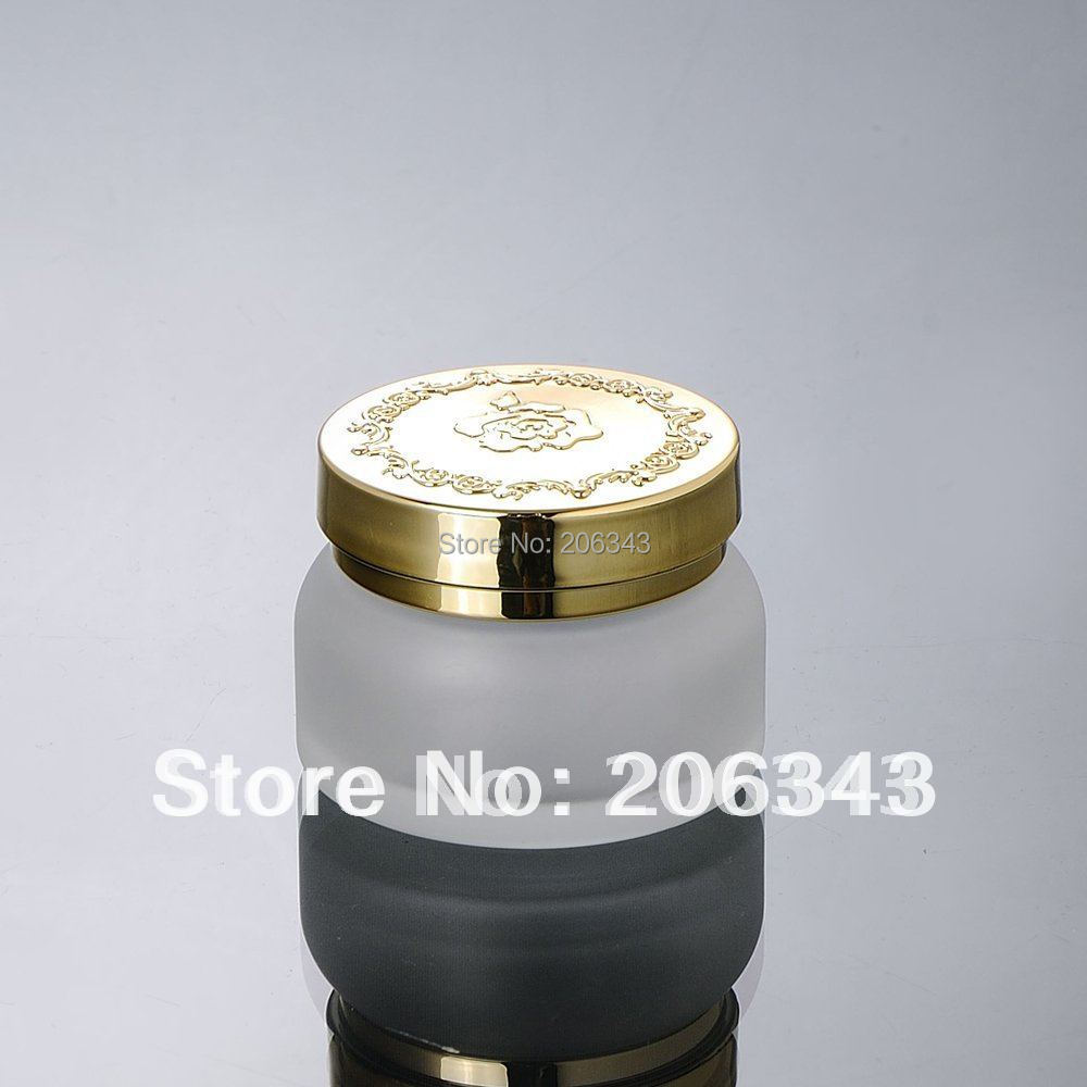 50G frosted glass  cream jar,cosmetic container,,cream jar,Cosmetic Jar,Cosmetic Packaging,glass bottle<br><br>Aliexpress