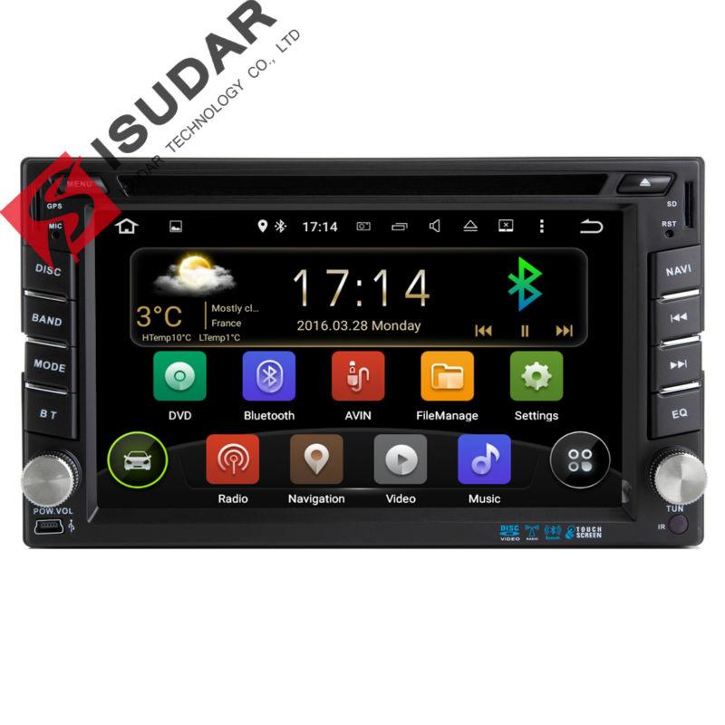 Two Din 6.2 Inch Android Car DVD Player Nissan/TIIDA/QASHQAIX-TRAILVERSA/ Wifi GPS Navigation Bluetooth Radio 1080P FM Map