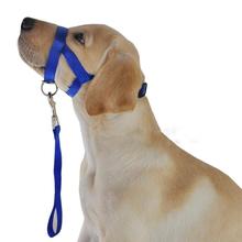 Размер XL Без Коры Клев Регулируемая Нейлон Собак Pet Безопасности Крышку рот Морда Анти Укус Жевать Quick Fit Регулируемая Бесплатно доставка