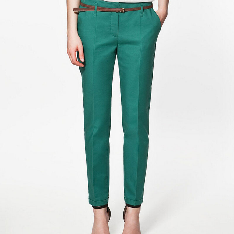 Summer &Autumn Quality Elegant Fashion Ladies Pencil Pants Women trousers women Formal pants pantalon femme free shipping,T3152(China (Mainland))