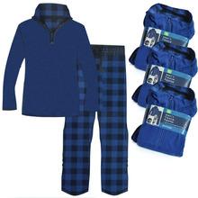 Lovers polar fleece fabric lounge set male women's sports thermal set Men's Clothing Men Pajamas(China (Mainland))