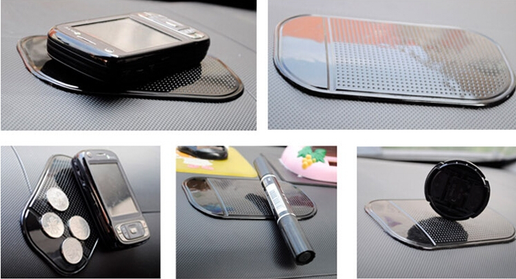 New 1pc free shipping Car Magic Grip Sticky Pad Anti Slide Dash Cell Phone Holder Non