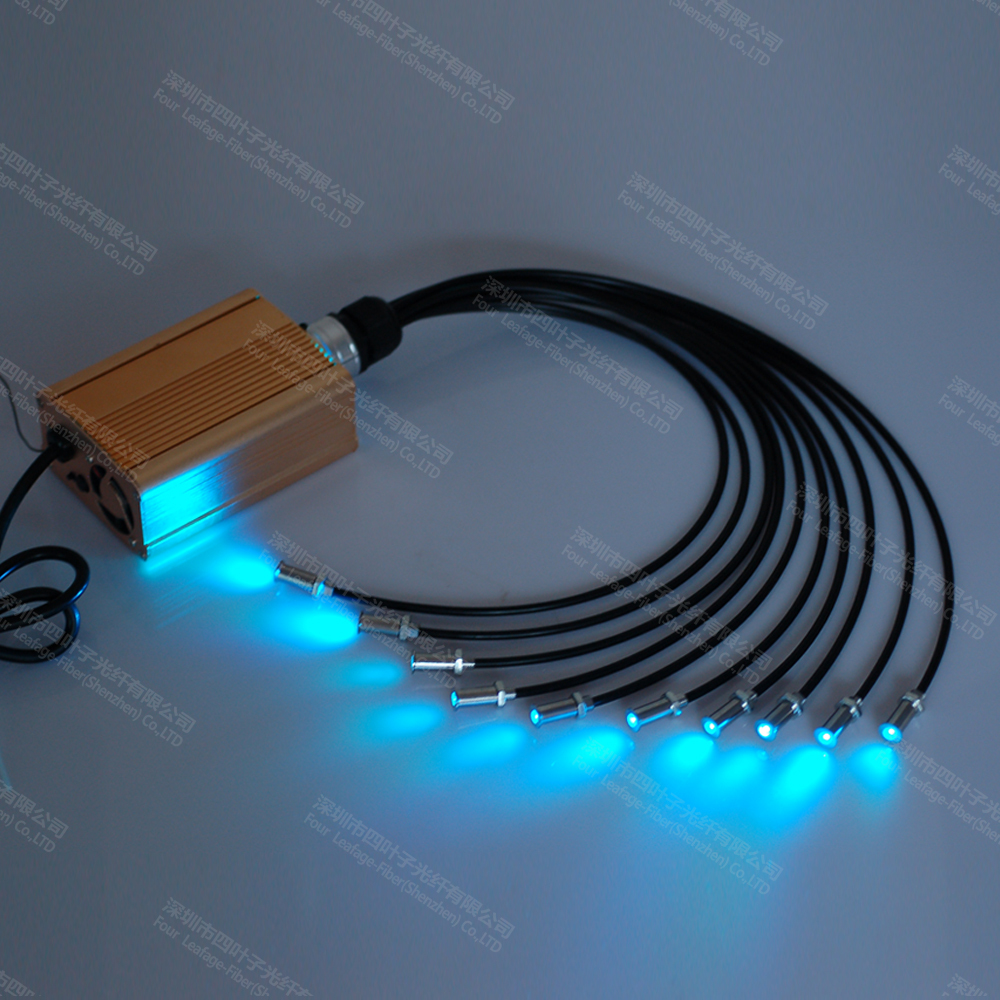 fiber optic pool light end fitting for swimming sauna floor lighting. Black Bedroom Furniture Sets. Home Design Ideas