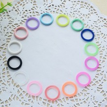 O-Rings Colorful Newborn Baby Kids Silicone Dummy MAM Pacifier Clips Adapters Button Style  VCM07 P30(China (Mainland))