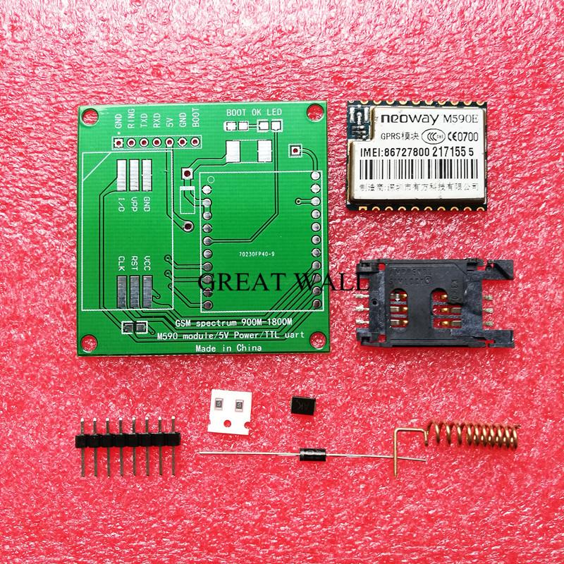 M590E GSM GPRS module 900m-1800m sms assembled for Arduino