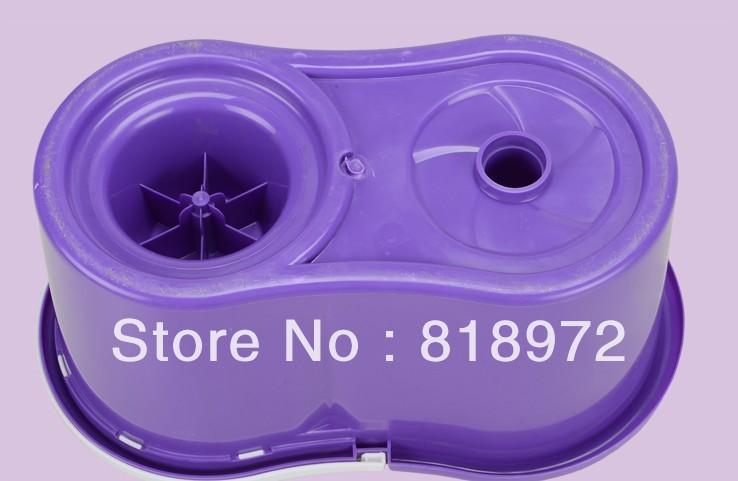 Easy Life Hand Pressing 360 Spin & Go Magic Mop, 1 bucket + 1 pole + 4 microfiber mops(China (Mainland))