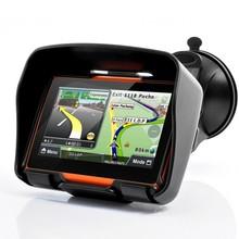 4.3″TFT Touch Screen gps professional Waterproof Bluetooth Motorcycle GPS Navigator 4GB Internal Memory free Map EU AU US UK