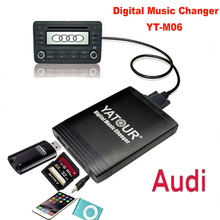 YATOUR Digital Music Changer USB SD AUX MP3 Adaptor for Audi Chorus 2 Concert 1/2 Symphony 1/2(China (Mainland))