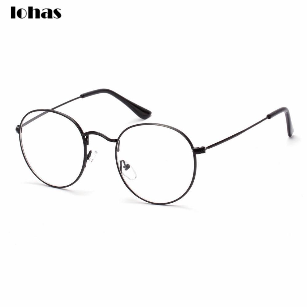 Full Rim Metal Round Eyeglasses Frame | City of Kenmore, Washington